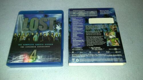 1 of 1 - Lost - The Complete Fourth Season (Blu-ray Disc, 2008, 5-Disc Set)