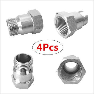 4Pcs M18x 1.5 O2 Oxygen Sensor Extension Spacer Bungs
