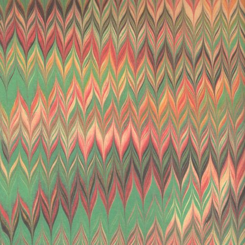 Überzugspapier Marmorpapier 50 x 70 cm Italienisches Buntpapier