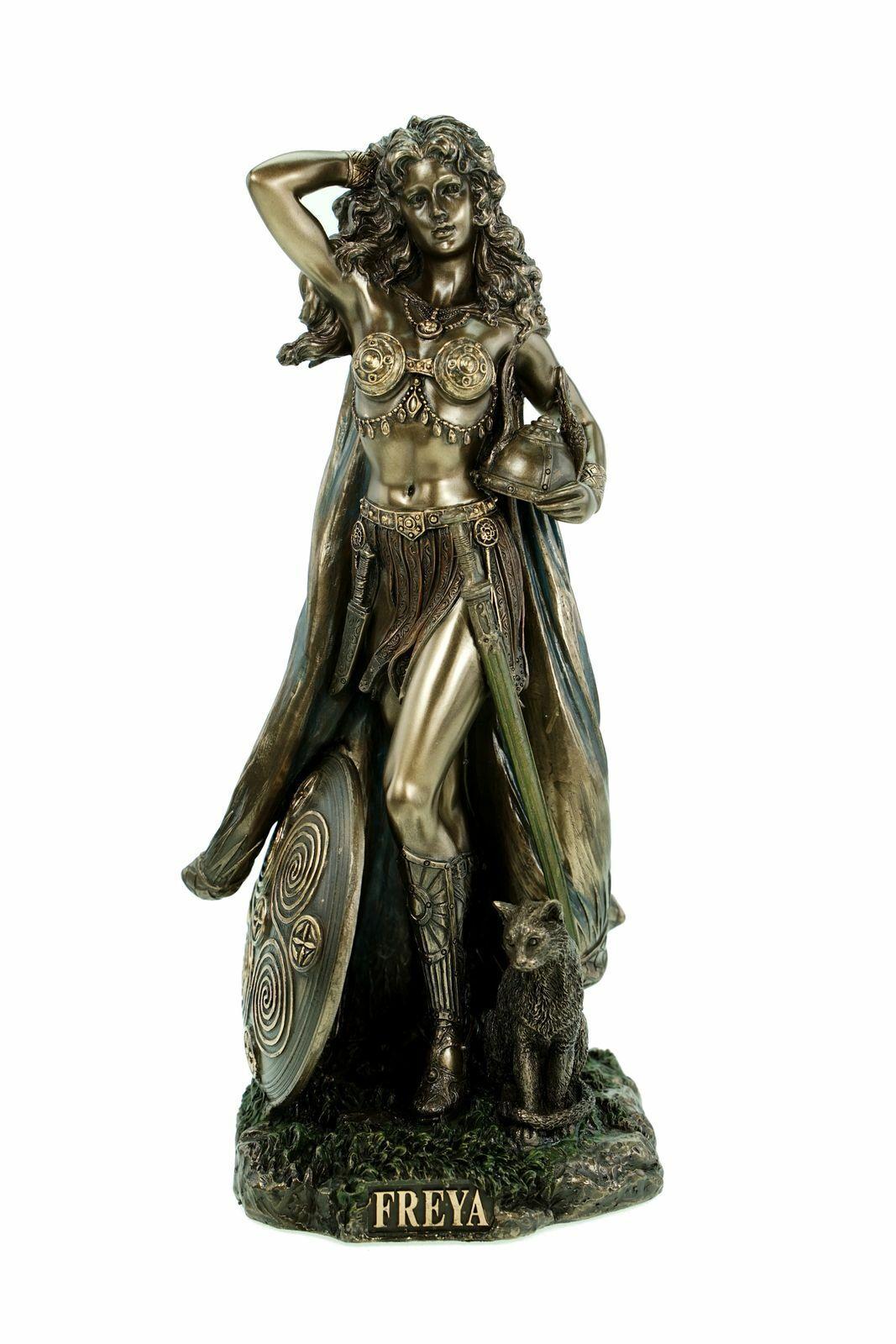 Edle Freya  nordische Göttin der Liebe Figur Skulptur Deko Dekoration Odin