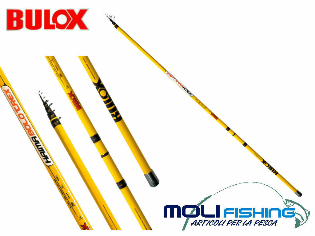 FISHING ROD BOLOGNESE FLOATING BULOX HAIMA BOLO TREX 5 AND 6 M ACTION 5 -25 GR