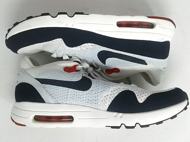 Size 8.5 - Nike Air Max 1 Ultra 2.0 Flyknit Sail Obsidian for sale ...