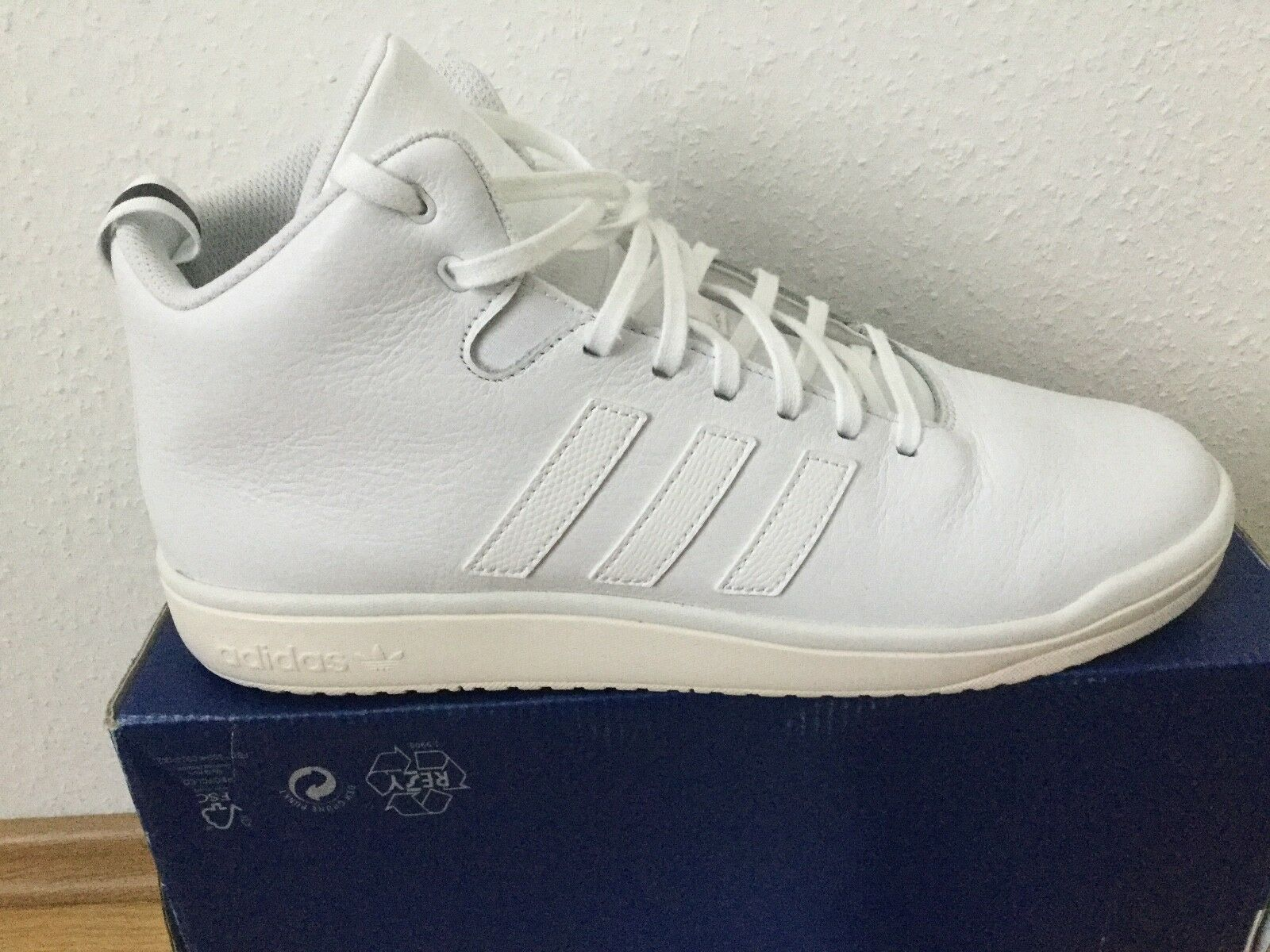 adidas Originals  Schuhe Echtleder-Sneaker  Weiß Herren  Gr.46