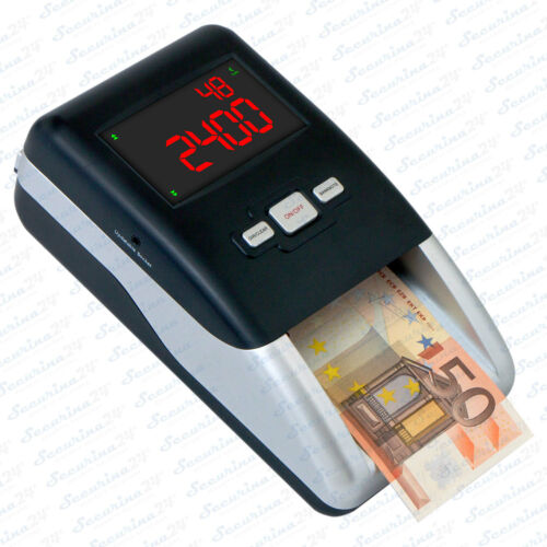 Geldzählmaschine Geldtester Geldprüfgerät  Geldprüfer Geldscheinprüfer