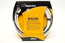 Jagwire Racer Road Bike Brake & Shifter/Derailleur Cable&Housing DIY Kit White