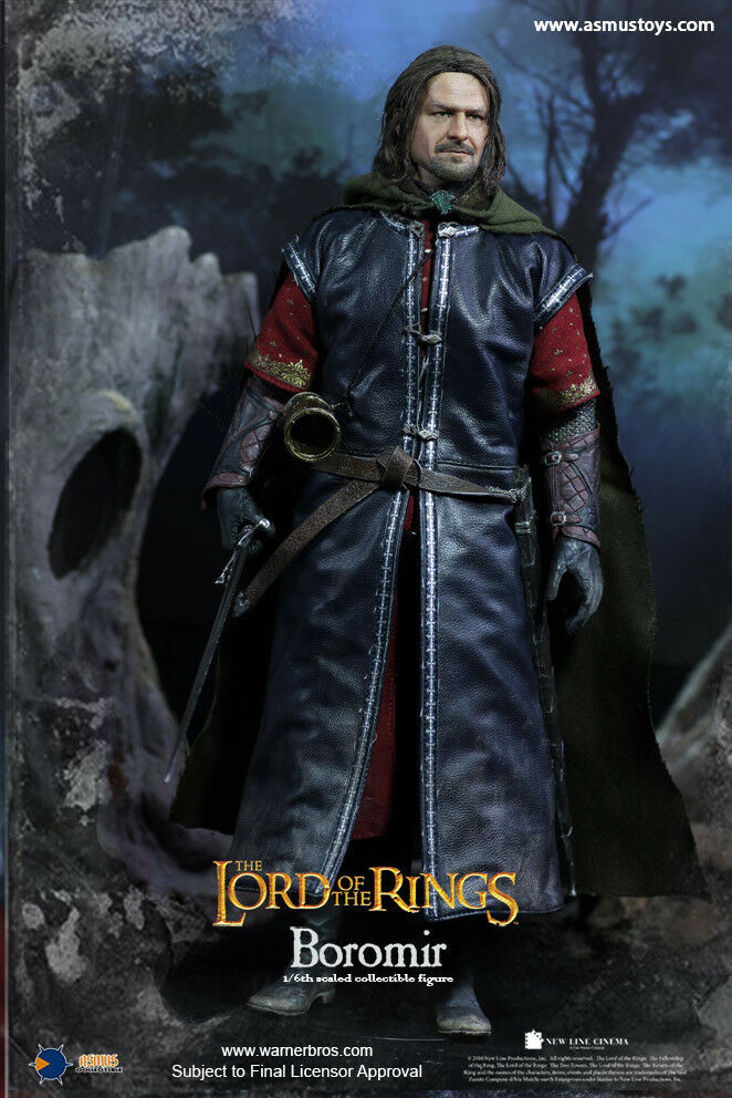 1 6 Asmus Toys LOTR017H The Lord of The Rings Bgoldmir Rooted Hair Action Figure