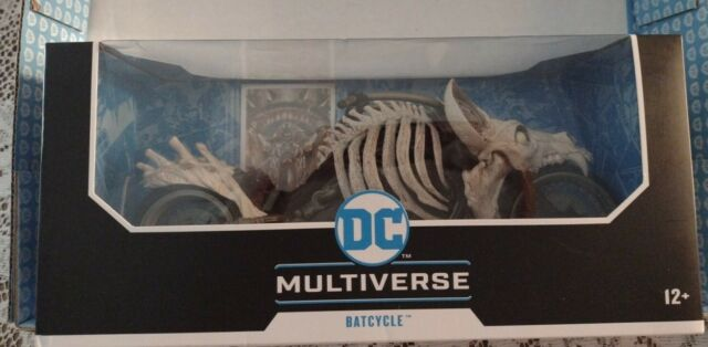 "DC Multiverse Batcycle Vehicle for 7"" Action Figures.Dark Nights Death Metal NIB"