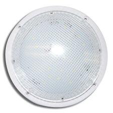 1000 Lm Super Bright Led Rv 12v Porch Scare Light Exterior White 85 Round