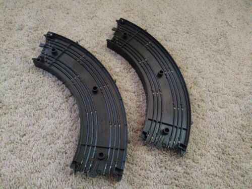 """Vintage Tyco Slot Car 9/""""R 1//4 Circle Track Preowned Good Condition 2 lot"""
