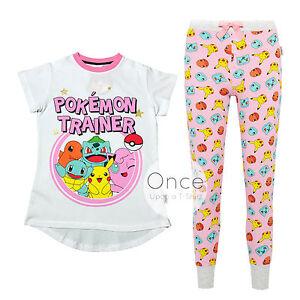 haut fonctionnaire professionnel de premier plan profiter du prix le plus bas Details about PRIMARK Ladies POKEMON TRAINER Pyjamas Pajama Pieces