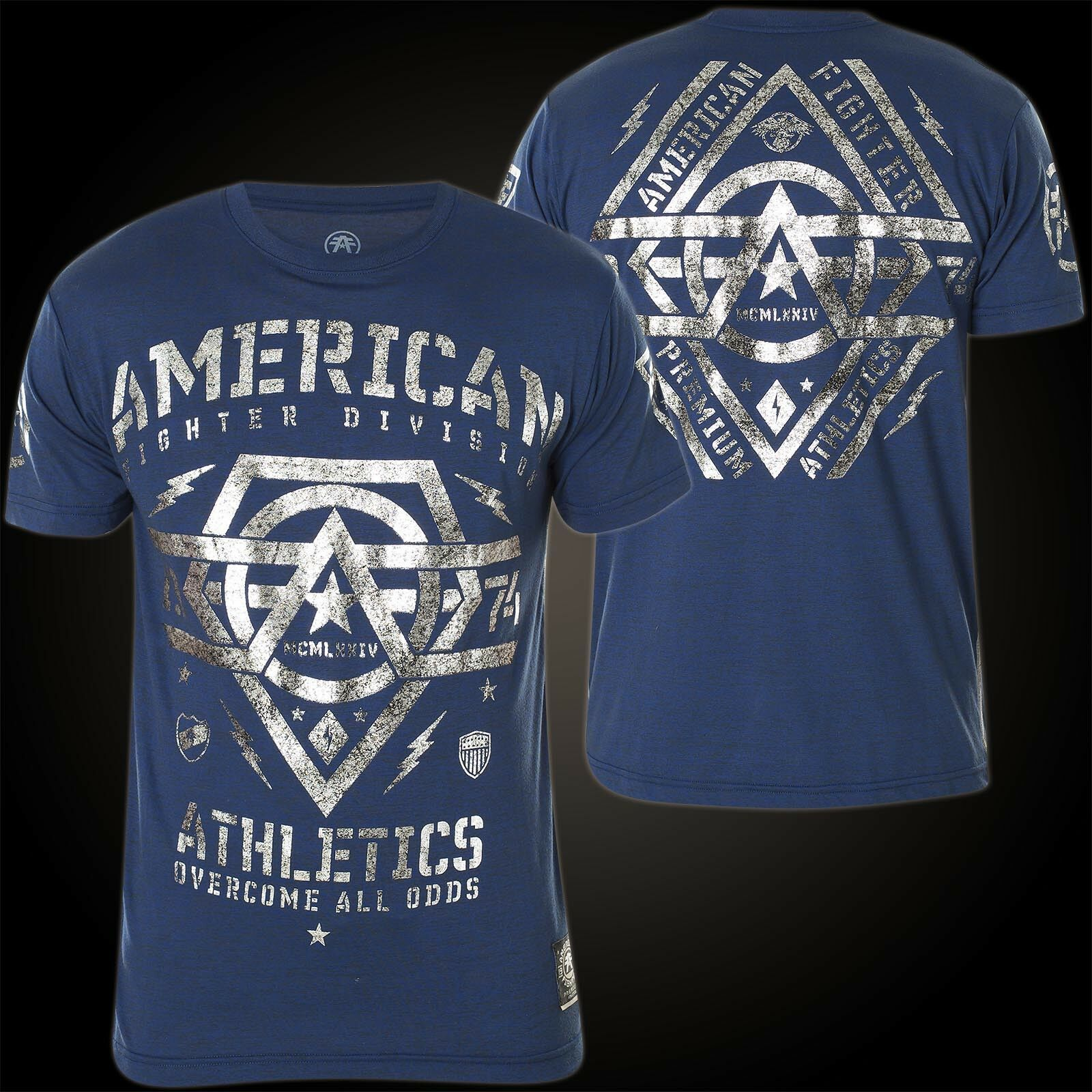 American Fighter by Affliction T-Shirt Westend bluee