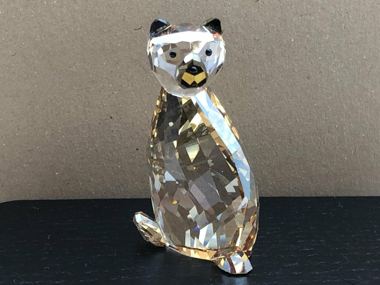 Swarovski Figurine 1039557 Bear Ted 6 cm. Excellent Condition
