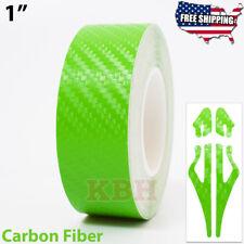 1 Vinyl Pinstriping Pin Stripe Line Tape Decal Sticker 25mm Carbon Fiber Green
