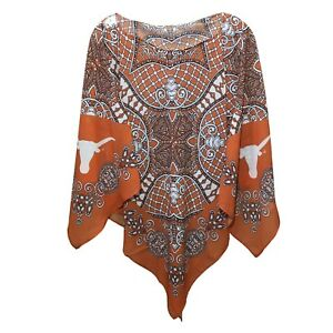 Texas Emerson Street Clothing Co. Women s Lily Scarf Poncho Small ... 3220f725541f