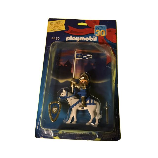 New Playmobil 4430 Castle Golden Knight 30th Anniversary: 2003