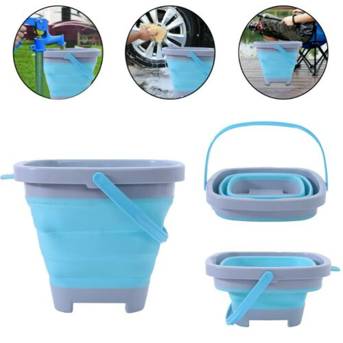 5L Portable Folding Collapsible Bucket Outdoor Barrel Fishing Camping Beach w