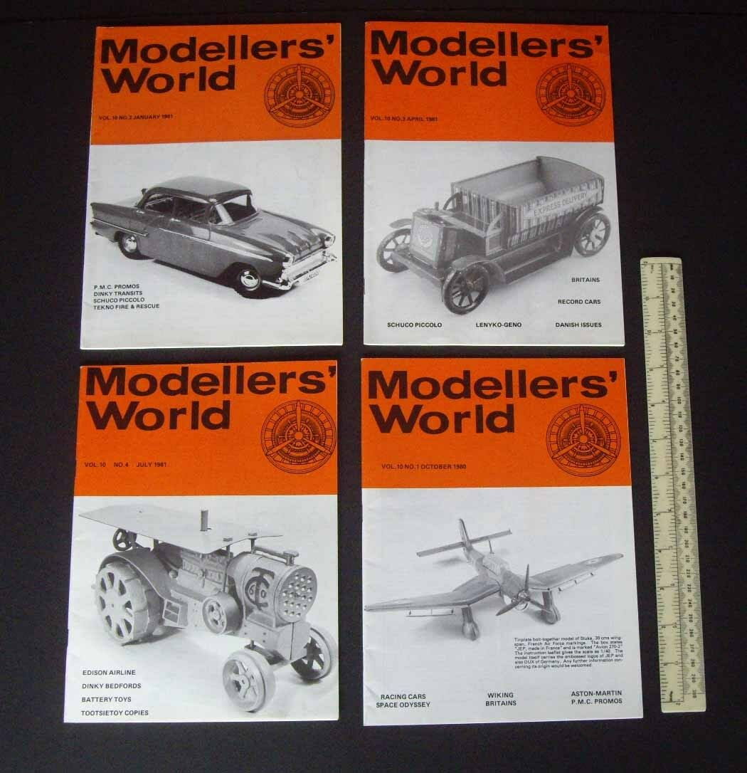 1980 81 Vintage mikansue los modeladores's modeladores's modeladores's World Coleccionistas Revista Completa Vol 10 bc638a