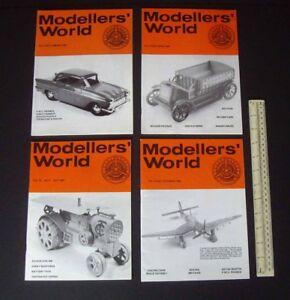 1980/81 Vintage MikanSue Modellers' World Collectors Magazine Complete Vol 10