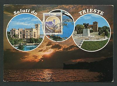 Beliebte Marke Italien Mk Castello Trieste Burg Castle Maximumkarte Maximum Card Mc Cm D1909 Geschickte Herstellung