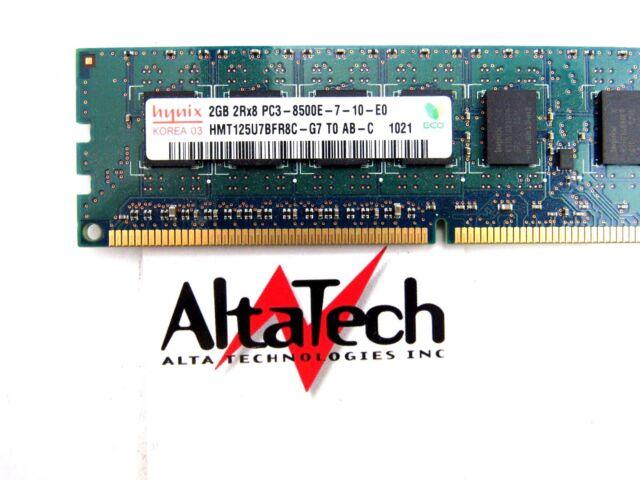HMT125U7BFR8C-G7 2GB PC3-8500E DDR3-1066 2RX8 ECC P
