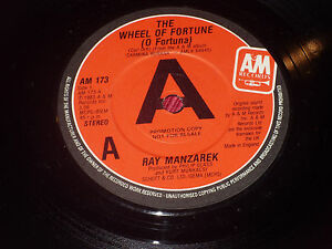 Ray-Manzarek-The-wheel-of-fortune-PROMO-7-034-THE-DOORS