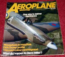 Aeroplane Monthly 1987 February Chrislea,Hurricane,Norseman,Calcutta