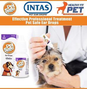 Dog Cat Ear Drops Infection Antibiotic Treatment Medicine