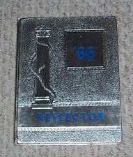 1966 Bendle High School Yearbook Hint Michigan Reflector Annual