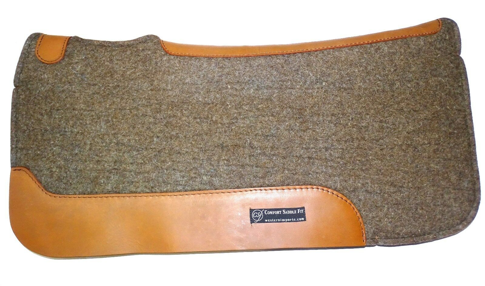 Csf Comfort feltpad wool estándar 32  x 33  sattelpad extra wollvlies