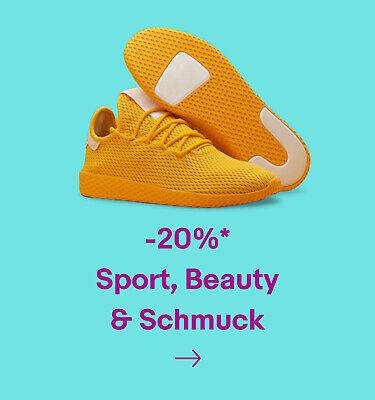 -20% Sport, Beauty & Schmuck