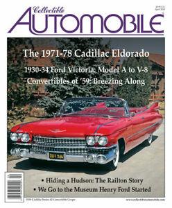 Collectible-Automobile-Magazine-April-2020-Featuring-1971-78-Cadillac-Eldorado