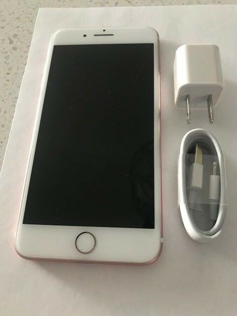 Apple iPhone 7 Plus 32GB Rose Gold Sprint BAD ESN EXCELLENT CONDITION **********