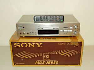 Sony MDS-JB980 High-End MiniDisc Recorder in OVP w.NEU, inkl. FB, 2J. Garantie
