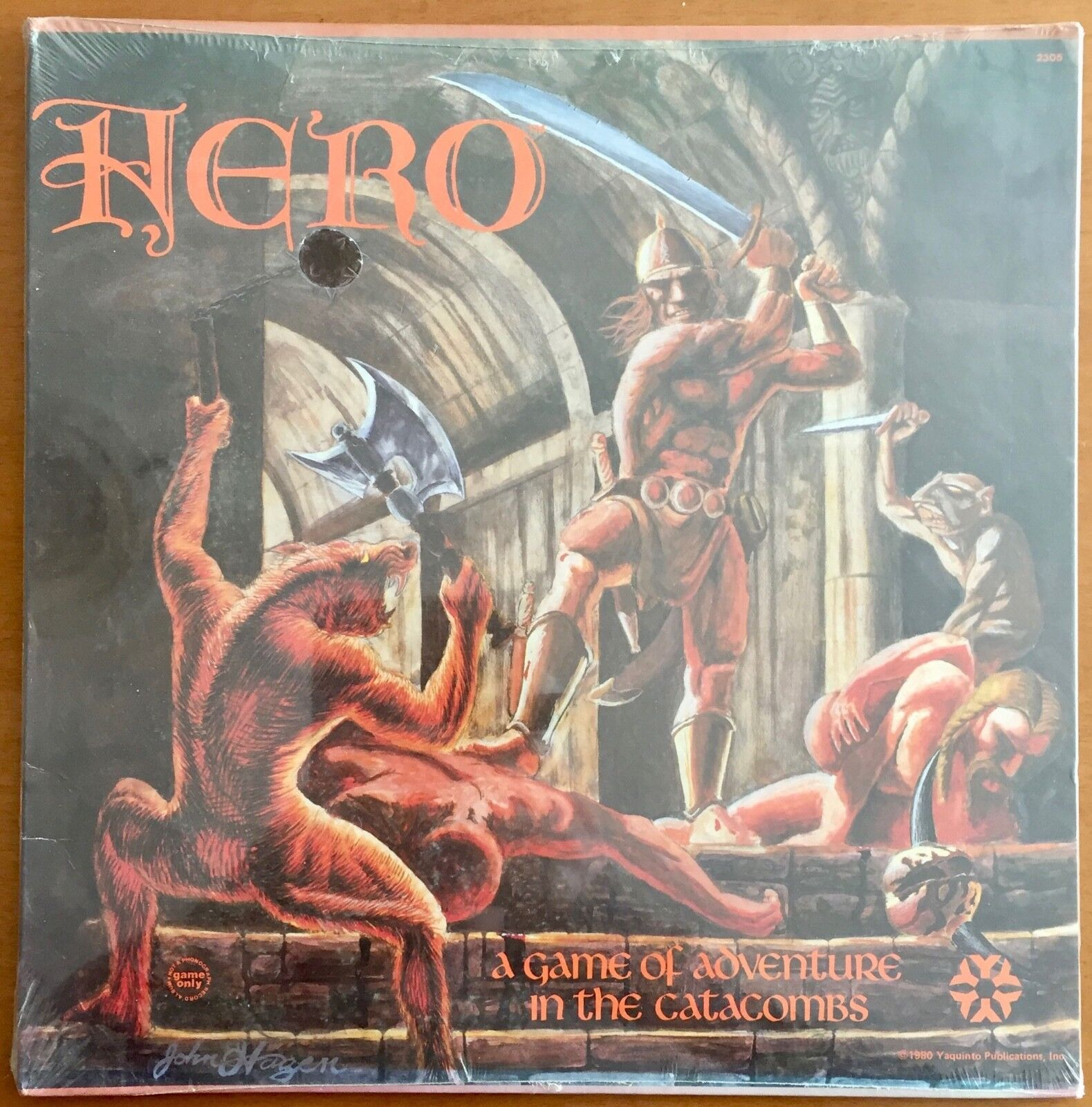 Hero - Yaquinto 1980 - blisterato sealed Shrinkwrapped - UNPUNCHED