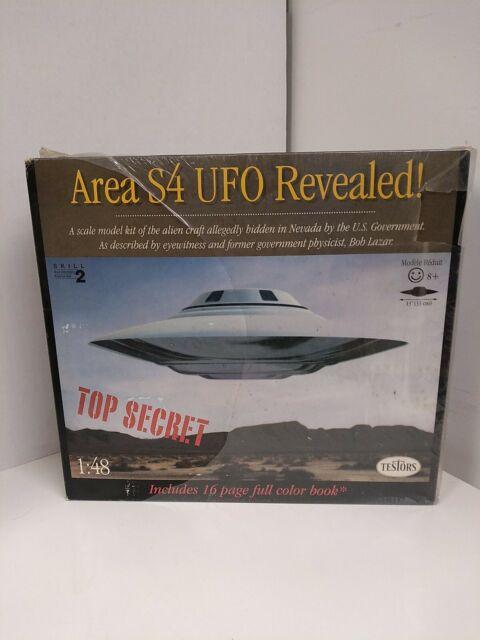 Testors S4 UFO 1//48 Spacecraft for sale online