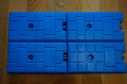 Kit de 4 glace kühlpacks 1x utilisé 20 H Puissance frigorifique Camping Pêcher