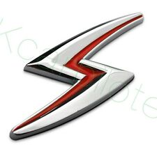 1Pcs Car Alloy Metal S Lightning Auto Body Front Sticker Badge Emblems For Teana