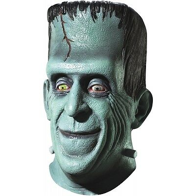 Herman Munster Mask Costume Accessory Mens The Munsters Frankenstein Halloween