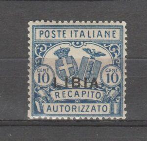 S36324 Libya 1929 Mmh Delivery Licensed Dent. 14 Saxon 2 1v