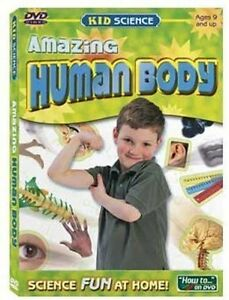 Kid Science Amazing Human Body DVD  Learn about systems that make your body work