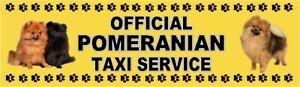 BOXER OFFICIAL TAXI SERVICE  Dog Car Sticker  By Starprint