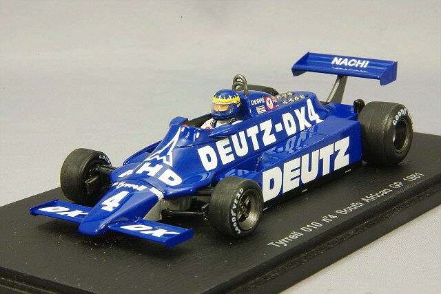 SPARK 1 43 Tyrrell 010 1981 F1 South Africa GP  4 D. Wilson du Japon