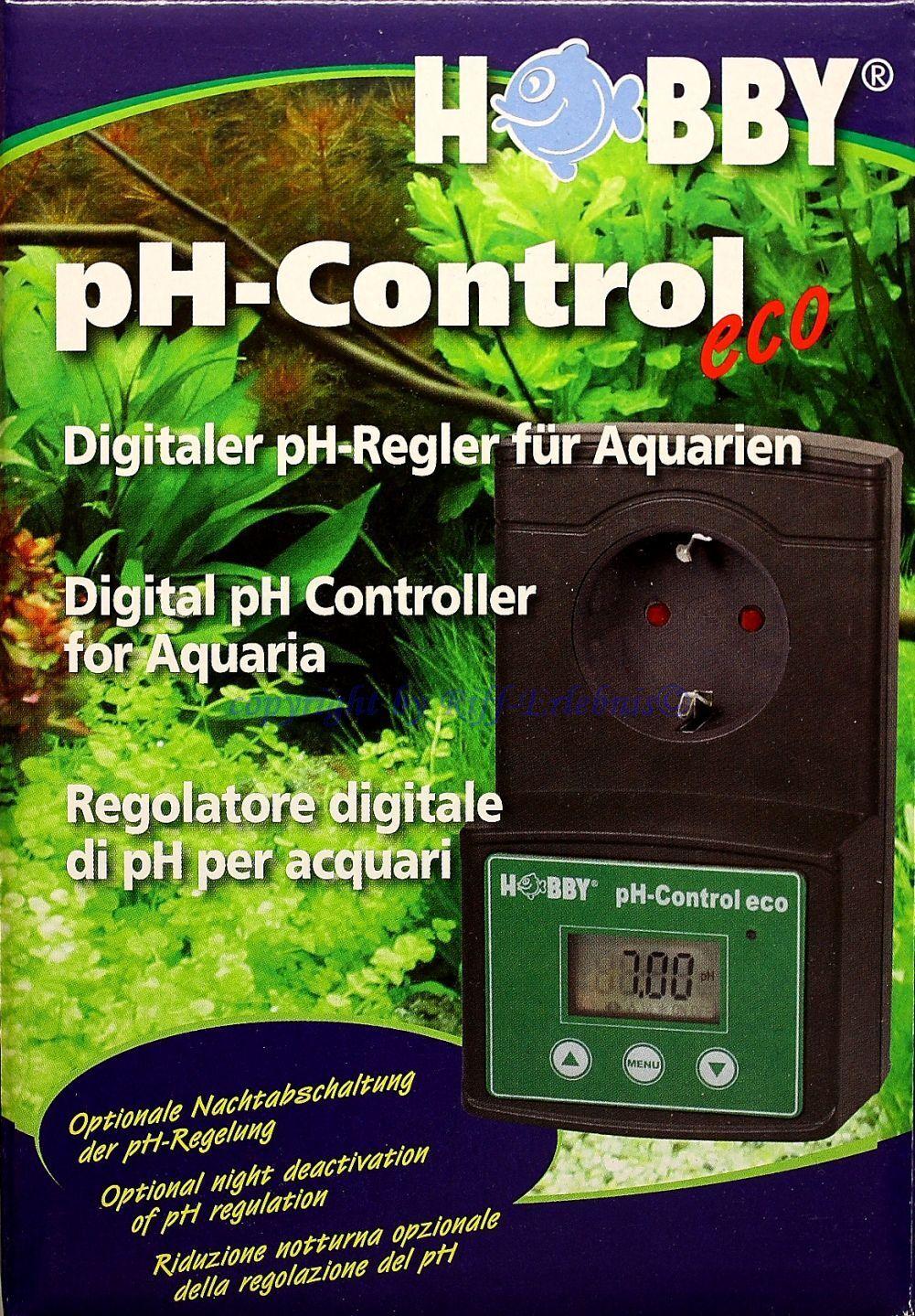 Controllo Ph Eco Hobby Digitale Ph-Regler per Acquari