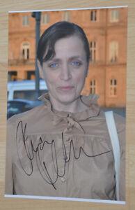 ORIGINAL-Autogramm-von-Anna-Thalbach-pers-gesammelt-100-Echt-20x30-Foto