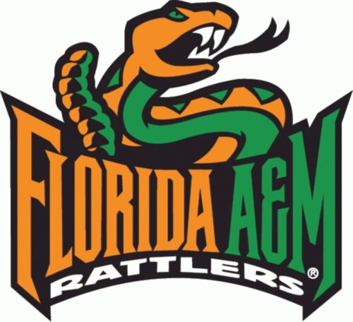 Florida A/&M Rattlers NCAA College Vinyl Sticker Decal Car Window Wall
