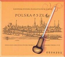 Poland souvenir sheet imperforated  Philatelic Exhibition Lublin 2001 + gratis