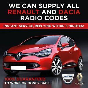 Instant-tutte-le-Renault-Radio-codice-di-sblocco-Decode-CLIO-MEGANE-SCENIC-TRAFIC-LAGUNA
