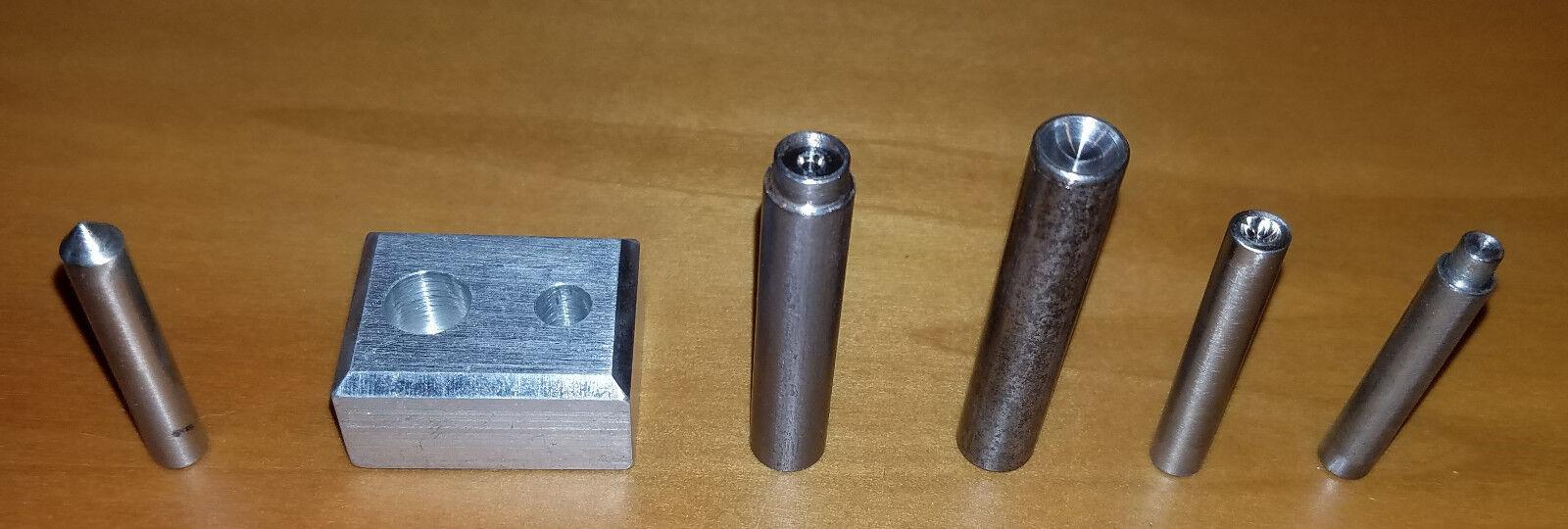 PE Design - O gauge - Rivet Punch Set  NEW