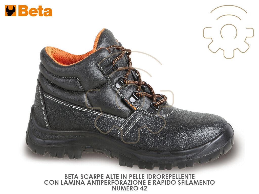 Beta shoes 42 antinfortunistiche alte antifgold S3P 7243C SRC idrorepellente
