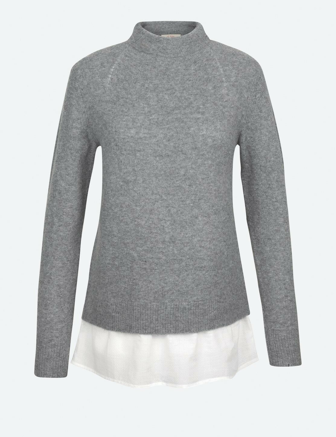 Fat Face - Women's - Saskia Jumper - Grey - 46% Acrylic - BNWT